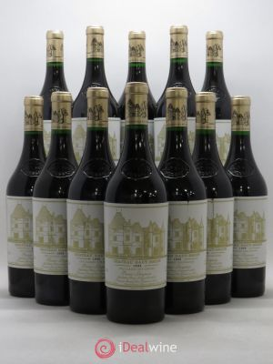 Bottle Château Haut Brion 1er Grand Cru Classé  1999 - Lot de 12 Bottles