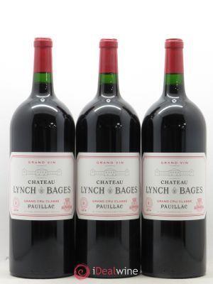 Château Lynch Bages 5ème Grand Cru Classé  2014 - Lot de 3 Magnums