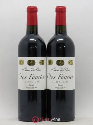 Clos Fourtet 1er Grand Cru Classé B  2006 - Lot de 2 Bottles