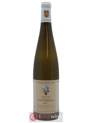 Riesling Grand Cru Osterberg Kientzler (Domaine)  2017 - Lot de 1 Bottle