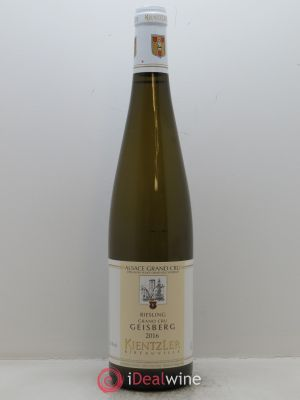 Riesling Grand Cru Geisberg Kientzler  2016 - Lot de 1 Bottle
