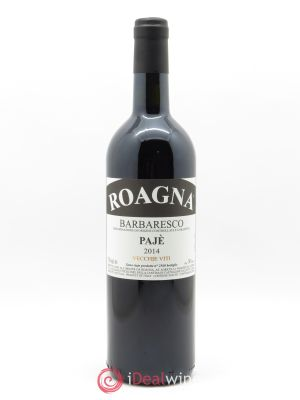 Barbaresco DOCG Pajé Vieilles vignes Roagna  2014 - Lot de 1 Bottle