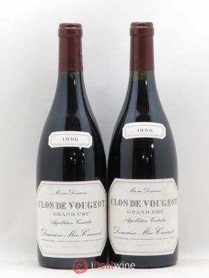 Clos de Vougeot Grand Cru Méo-Camuzet (Domaine)  1996 - Lot de 2 Bottles