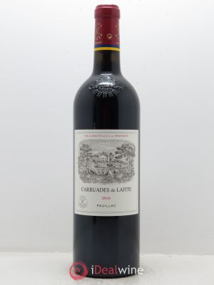 Carruades de Lafite Rothschild Second vin  2016 - Lot de 1 Bouteille