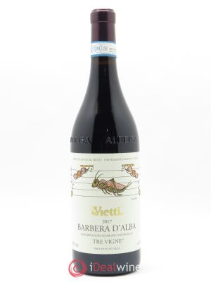 Barbera d'Alba Tre Vigne Vietti  2017 - Lot de 1 Bottle
