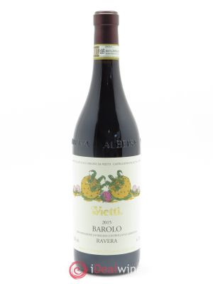 Barolo Ravera Vietti  2015 - Lot de 1 Bottle
