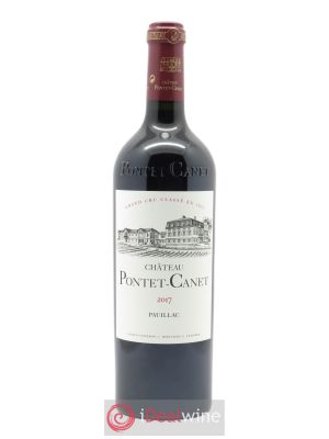 Château Pontet Canet 5ème Grand Cru Classé (OWC if 6 btls) 2017 - Lot de 1 Bottle