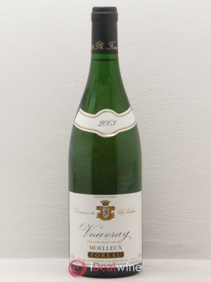 Vouvray Clos Naudin - Philippe Foreau  (no reserve) 2003