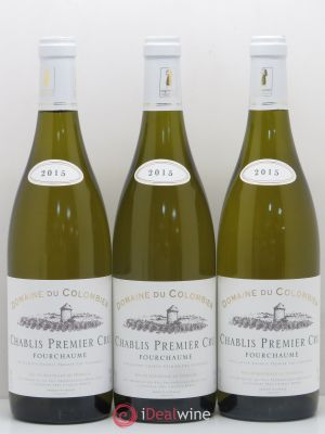 Chablis 1er Cru Fourcheaume Domaine Du Colombier 2015 - Lot de 3 Bottles
