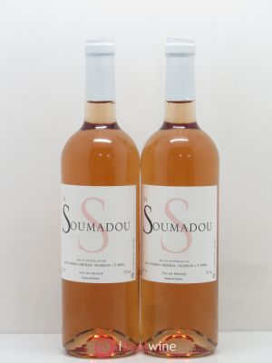 Divers Vin de France Domaine Le Soumadou 2016 - Lot de 2 Bottles