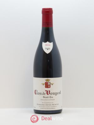 Clos de Vougeot Grand Cru Denis Mortet (Domaine)  2014 - Lot de 1 Bottle