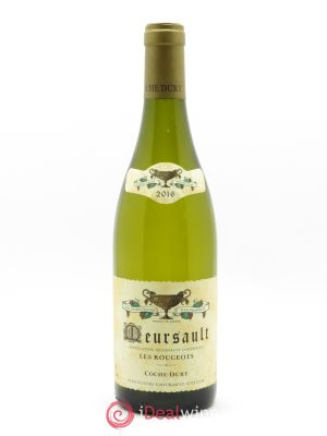 Meursault Les Rougeots Coche Dury (Domaine)  2016 - Lot de 1 Bottle