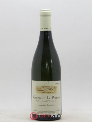 Meursault 1er Cru Le Porusot Roulot (Domaine)  2005 - Lot de 1 Bottle