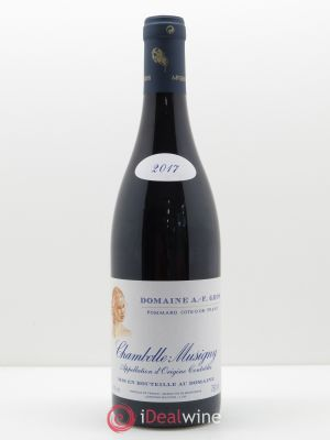 Chambolle-Musigny A.-F. Gros  2017 - Lot de 1 Bouteille