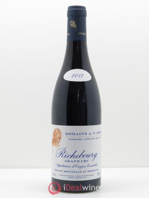 Richebourg Grand Cru A.-F. Gros  2017 - Lot de 1 Bouteille