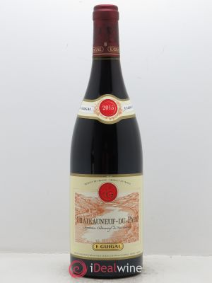 Châteauneuf-du-Pape Guigal  2015 - Lot de 1 Bottle