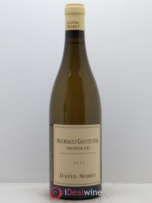 Meursault 1er Cru Les Gouttes d'Or David Moret (Domaine)  2017 - Lot de 1 Bottle