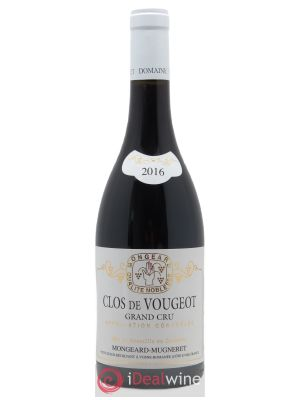 Clos de Vougeot Grand Cru Mongeard-Mugneret (Domaine)  2016 - Lot de 1 Bottle