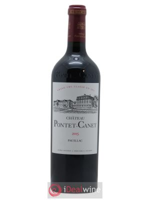 Château Pontet Canet 5ème Grand Cru Classé OWC from 6 BTL 2015 - Lot de 1 Bottle
