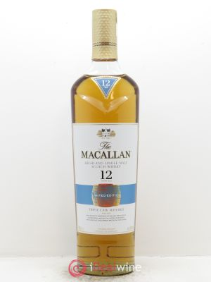 Whisky Triple Cask 12 years Old The Macallan (70cl) ---- - Lot de 1 Bottle