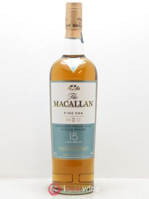 Whisky Fine Oak 15 years Old The Macallan (70cl) ---- - Lot de 1 Bottle