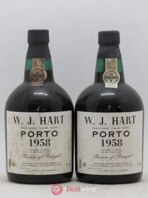 Porto Hart 1958 - Lot de 2 Bottles