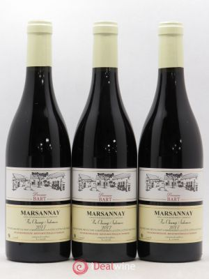 Marsannay Au Champs Salomon Domaine Bart  2017 - Lot de 3 Bottles