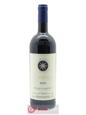 Bolgheri DOC Sassicaia Tenuta San Guido  2018 - Lot de 1 Bottle