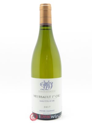Meursault 1er Cru Goutte d'Or Henri Darnat  2017 - Lot de 1 Bottle