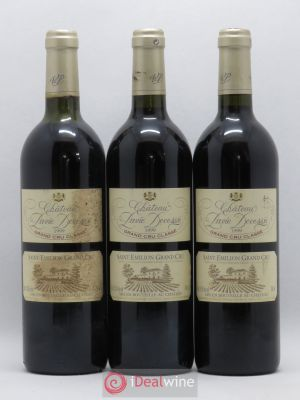 Château Pavie Decesse Grand Cru Classé  1999 - Lot de 3 Bottles