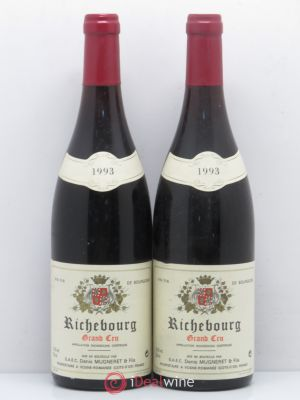 Richebourg Grand Cru Denis Mugneret 1993 - Lot de 2 Bouteilles