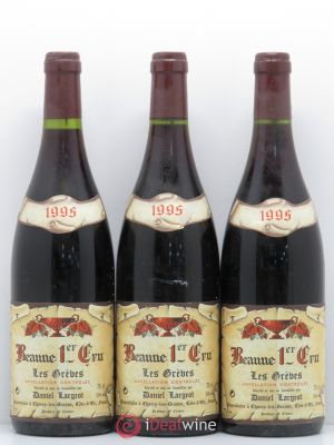 Beaune 1er Cru Les Grèves  Largeot 1995 - Lot de 3 Bottles