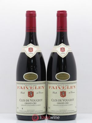 Clos de Vougeot Grand Cru Faiveley (Domaine)  1999 - Lot de 2 Bottles