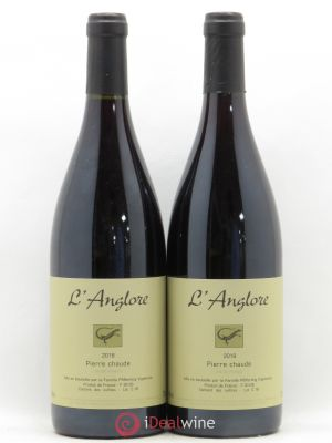 Vin de France Pierre chaude L'Anglore  2018 - Lot de 2 Bottles