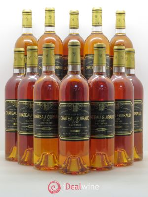 Bottle Château Guiraud 1er Grand Cru Classé  2001 - Lot de 12 Bottles