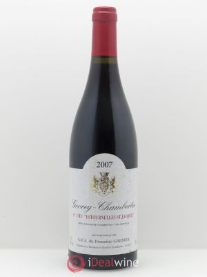 Gevrey-Chambertin 1er Cru Estournelles Saint-Jacques Garnier  2007 - Lot de 1 Bottle