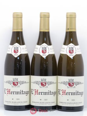 Hermitage Jean-Louis Chave  2014 - Lot de 3 Bottles