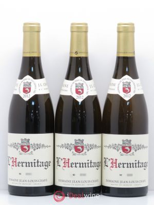 Hermitage Jean-Louis Chave  2012 - Lot de 3 Bottles