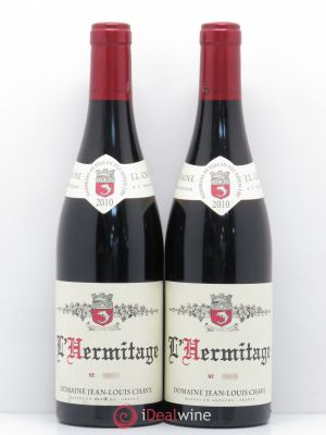 Hermitage Jean-Louis Chave  2010 - Lot de 2 Bottles