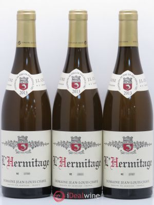 Hermitage Jean-Louis Chave  2013 - Lot de 3 Bottles
