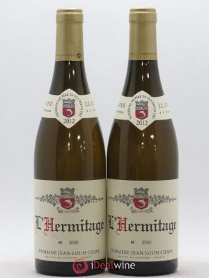 Hermitage Jean-Louis Chave  2012 - Lot de 2 Bottles