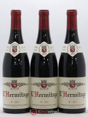 Hermitage Jean-Louis Chave  2015 - Lot de 3 Bottles