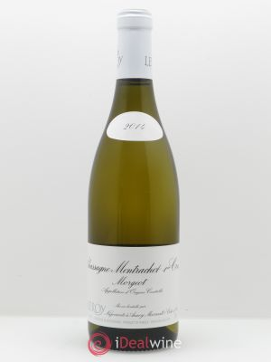 Chassagne-Montrachet 1er Cru Morgeot Leroy SA  2014 - Lot de 1 Bottle