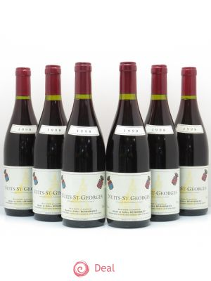 Nuits Saint-Georges Gilles Remoriquet  1998 - Lot de 6 Bottles