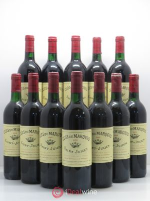 Bottle Clos du Marquis  1989