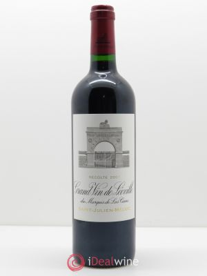 Château Léoville Las Cases 2ème Grand Cru Classé  2007 - Lot de 1 Bottle