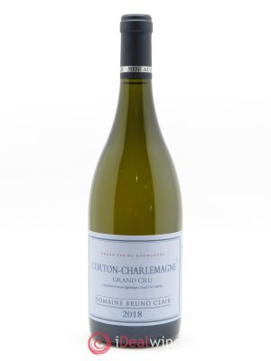 Corton-Charlemagne Grand Cru Bruno Clair (Domaine)  2018 - Lot de 1 Bouteille