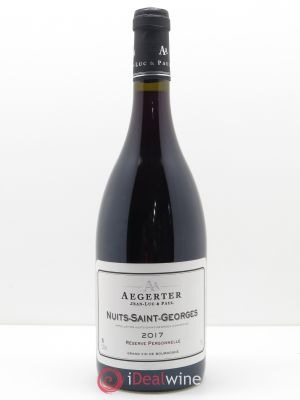 Nuits Saint-Georges Réserve Personnelle Aegerter  2017 - Lot de 1 Bottle