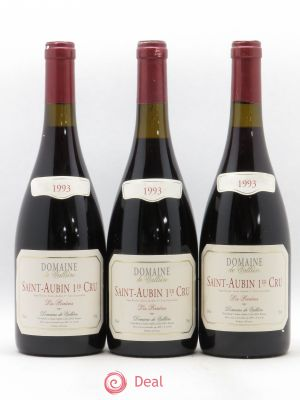 Saint-Aubin 1er Cru Les Perrieres Domaine de Valliere (no reserve) 1993 - Lot de 3 Bottles