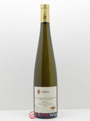 Riesling Grand Cru Zinnkoepflé Vendanges Tardives Agathe Bursin  2017 - Lot de 1 Bottle